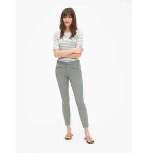 NWT Gap Skinny Ankle Pants Palm Green Size 2 v43